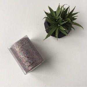 New Kate Spade Multi Glitter Drink Cozy